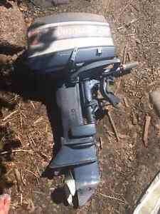25hp Johnson evinrude 2 stroke short shaft