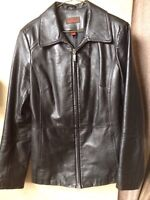 PERFECT CONDITION DANIER LEATHER JACKET
