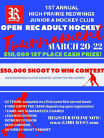 ADULT RED HOCKEY TOURNAMENT