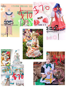【Top quality cosplay】Anime North AN costume LoveLive Ciel cheap