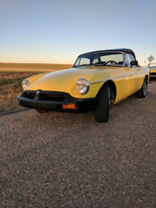 1975 MGB with overdrive