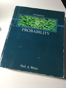 Probability STAT 2400, 3400 textbook sale!