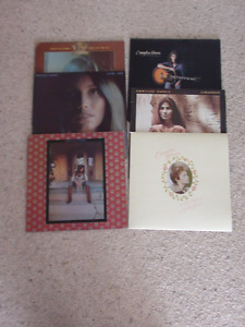 6 Emmylou Harris LP's in excellent condition