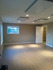 newly outfitted walk-out basement suite