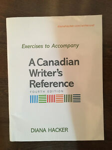 Exercises to Accompany A Canadian Writer's Reference.4th edition