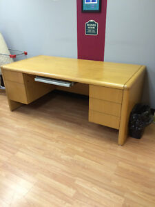 Heavy Wood Desk For Sale
