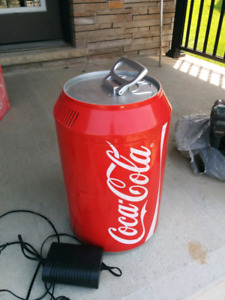 Coca cola cooler, (plug not working)