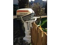 6hp Johnson sea horse outboard (spares /repairs)