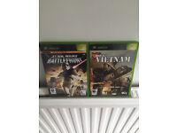 Xbox battlefront and conflict vietnam