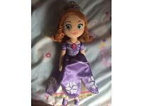 Sofia the First princess plush doll