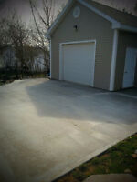 Concrete Garage Pads / Basement Floor Installations