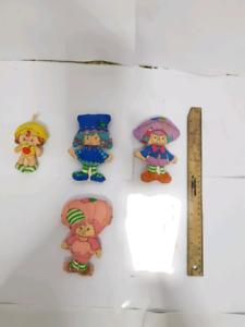 Strawberry shortcake- cut n sew rag dolls