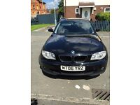 2006 BMW 1 SERIES 1.6 L + Full service + 12 month Mot