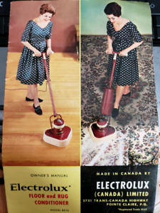 ELECTROLUX FLOOR and Rug conditioner and shampoo