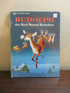 Rudolph the Red Nose Reindeer Big Golden Book Kitchener / Waterloo Kitchener Area image 1