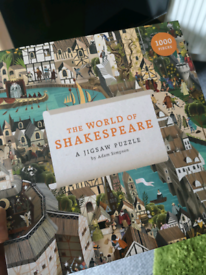 Shakespeare puzzle (1000 pieces)