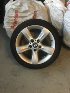 BMW 2004 325i SMG Sport Mags & Tire set.