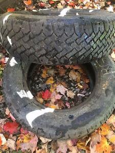 pneus 185 70 r14(2fois) et 175 65 R14 (2fois)