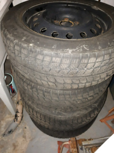 Set of 4 Winter Tires - Like new - $400 - only used one winter