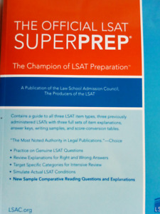 Two LSAT books for sale!