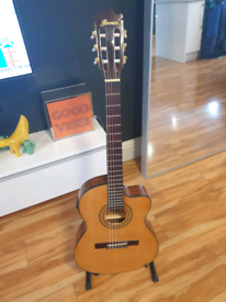Ibanez GA5TCE-AM electro acoustic classical guitar