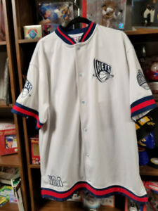 OLD STOCK--UNIQUE GENERATION -New Jersey Nets- grey Jersey-XXL