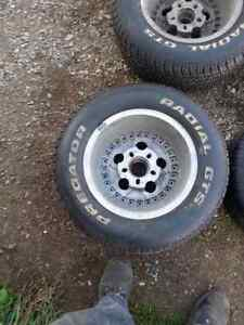 Set of 4, 15 inch tires and rims Stratford Kitchener Area image 8