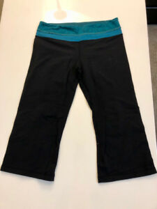 Lululemon Crops - Excellent Condition!