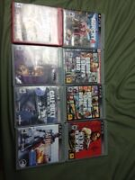PS3 8 video games