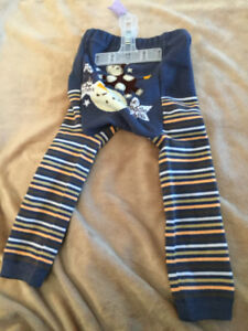 """12-24 month """"cow jumped over the moon"""" bum pants/leggings"""