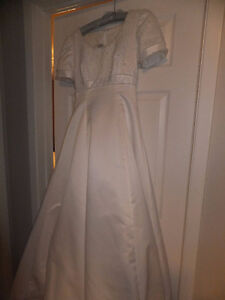 Alfred Angelo Wedding Gown and Veil