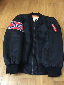 jacket bomber yeezus tour kanye west taille medium neuf noir
