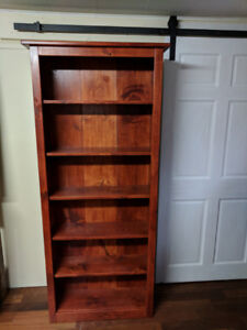 Solid Wood Bookcases HANDMADE!
