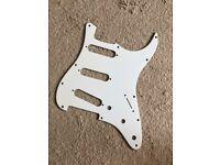 Genuine Fender USA scratchplate