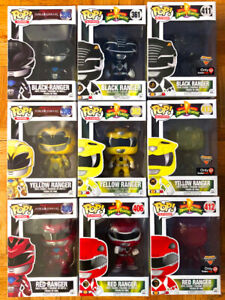 Funko POPs Power Rangers LOT with exclusives