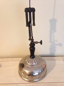 Rare 1920 Coleman pressure gas lamp, quick light lantern