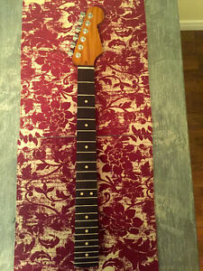 Warmoth Quartersawn Afra neck with ebony fingerboard