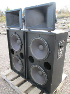 Electro Voice Theater Speakers, the Blast from the Past