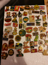 100+ confectionery/ food collectible pins