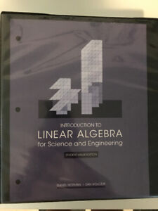 Introduction to Linear Algebra Textbooks *Great Deal!*