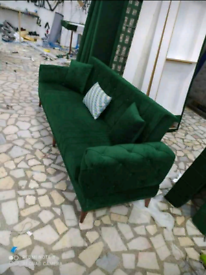 Brand new plush valvet sofa beds in discount price