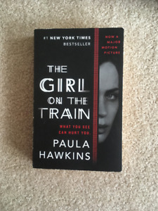 The girl on the train by Paula Hawkins. $10 great book