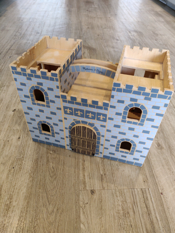 Melissa And Doug Fold Go Wooden Castle In Llanishen Cardiff Gumtree
