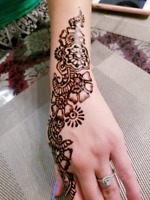 Wedding henna tattoo designs