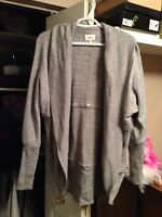 New light grey Aritzia Wilfred Diderot sweater