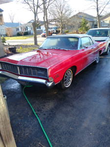 1968 Ford Galaxie 500 XL Convertible. Two door