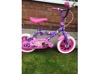 Girls little kingdom bike