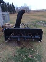 "76"" meteor snowblower"