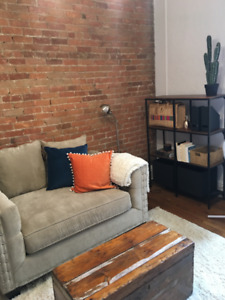 Cozy 3 1/2 for summer sublet near Guy-Concordia