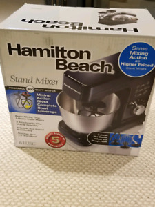 Brand new Hamilton Beach Stand Mixer
